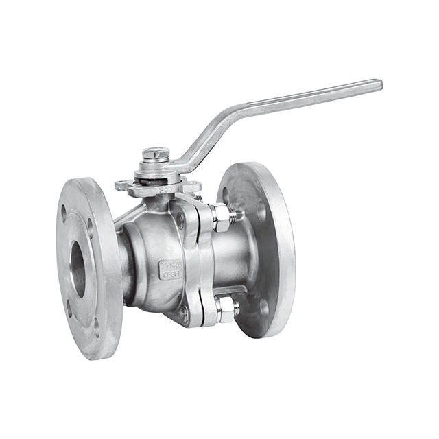 1/2 to 4 stainless steel class 150 2pc flanged ball valve supplier