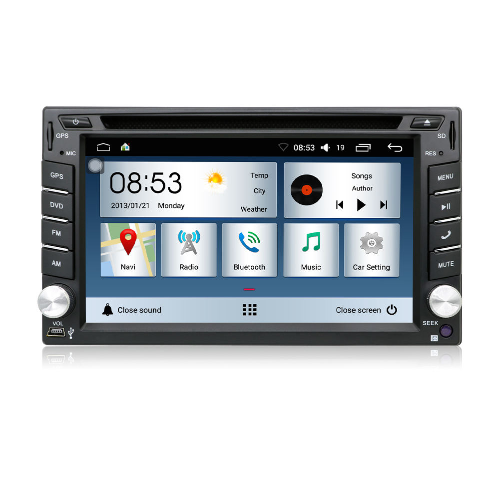 Android 10,0 2 Din T3 Universal HD Touchscreen Auto Radio GPS <span class=keywords><strong>DVD</strong></span> für Suzuki Jimny Grand Vitara mit Navigation USB SD 3G Wifi