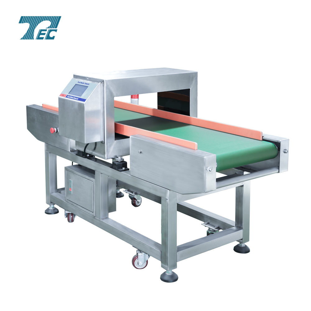 Conveyor belt full touch panel need metal detector used in food industrial.