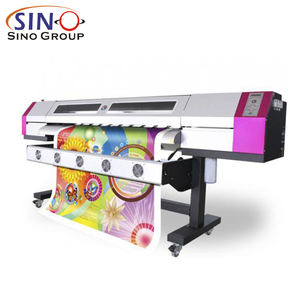 1.82M/3.2M Outdoor Indoor Larger Format Inkjet Printers Car Wrap Self Adhesive Vinyl Film Eco Solvent Printing Plotter Machine