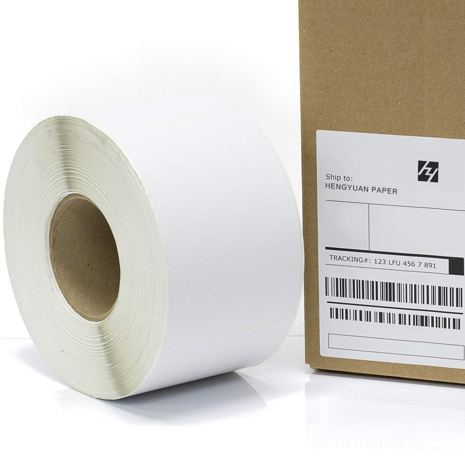 100x150mm Zebra/Dymo Direct Thermal Printer Label Roll 4 x 6 220pcs Shipping Package Address Labels Barcode Sticker Paper