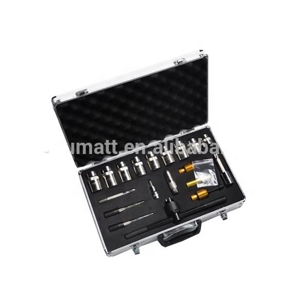 Diesel Injector <span class=keywords><strong>Tester</strong></span> Injector Demontage Tool Diesel Injector Test Tool Cr Tool 20Pcs Kit