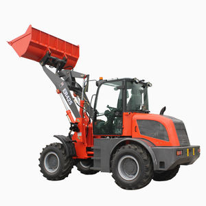 CE Approved 2.5Ton Small Construction Wheel Loader ER425 Mini Front End Loader With 4 in 1 Bucket