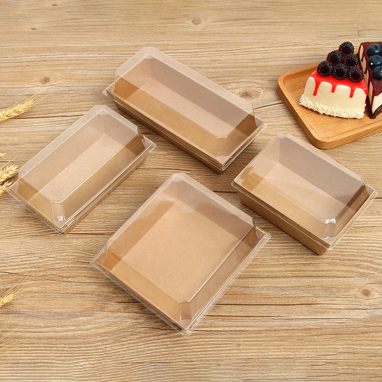 Containers Wholesale Chinese Fast Food Take Out Kraft Packaging Lunch Boxes, Biodegradable Paper Take Away Packing Food Box