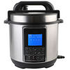 5L Stainless Steel Housing Pressure Cooker LCD Display Pressure Cooker 12875A