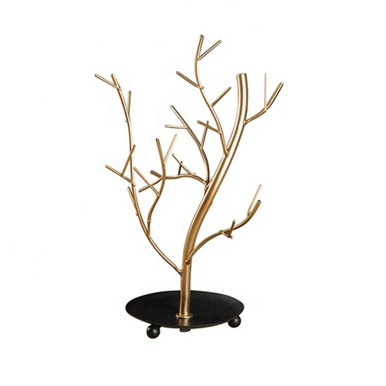Mayco Home Decorative Metal Iron Tree Jewellery Display Stand,Jewelry Rack Stand Organizer