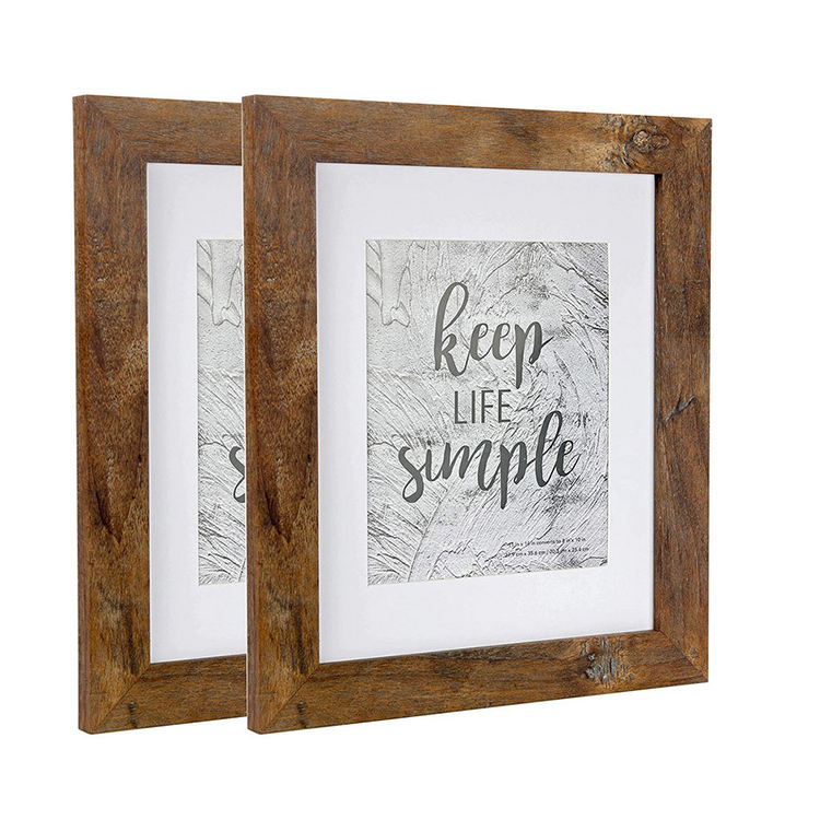 Customized Table-top Home Decorative Picture Frame Picture Frames 11x14 Imported Wood Photo Frame
