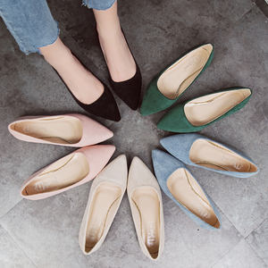 Fashion Women Flats Slip on Shoes Candy Color Woman Boat Shoes Ladies Shallow Ballet Flats Female Footwear