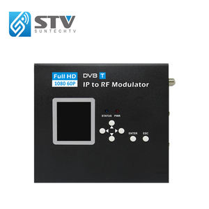 Ip zu qam modulator Tragbare IP/HD-MI zu DVB-T Encoder Modulator IP zu RF out Headend Konverter IP zu QAM MODULATOR USB eingang