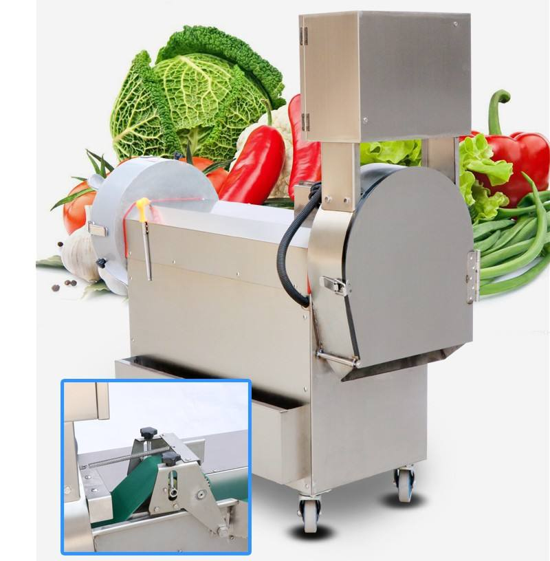 Automatic electric Tomato Slicer Potato cutting machine Vegetablecube cutter machine