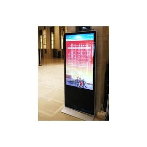 Ultra HD Komersial LED Layar Sentuh Digital Signage Kios Iklan Display Stand dengan Video Digital Advertising Pemain