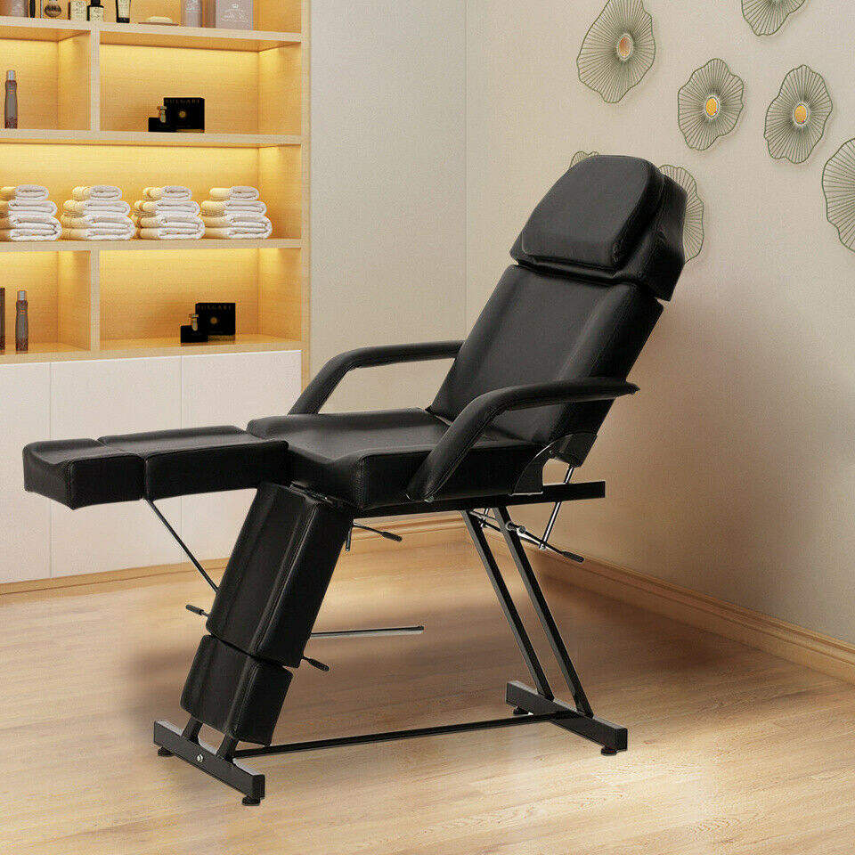 Salon Beauty Chair Balance Massage Table Tattoo Facial Couch Bed Folding Massage Facial Bed