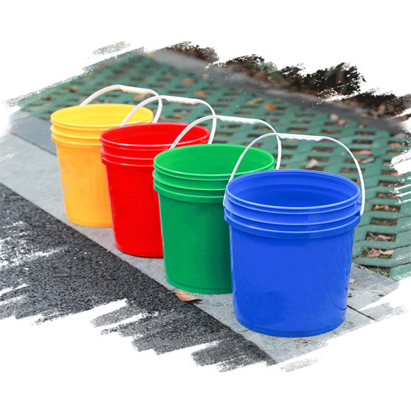 Empty 5 gallon Plastic Paint Buckets 20 liter UN plastic pail for Sale