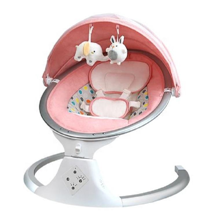 Fashion Design 5-speed Adjustable European Automatic Baby Electric Swing