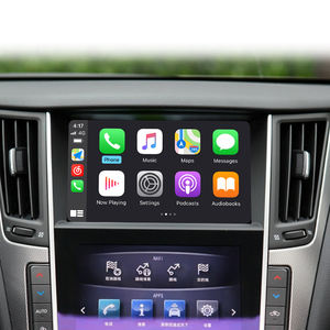 2015-2019 Q50 Carplay para Infiniti Android Auto Multimedia Interface Sem Fio Da Apple