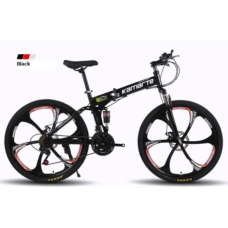 New arrival Superior Outdoor Exercise 21/24/27 speed Folding Mountain Bike