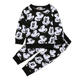 Hot sale cartoon mickey print long sleeve fall baby boutique clothes newborn infant boy outfit sets