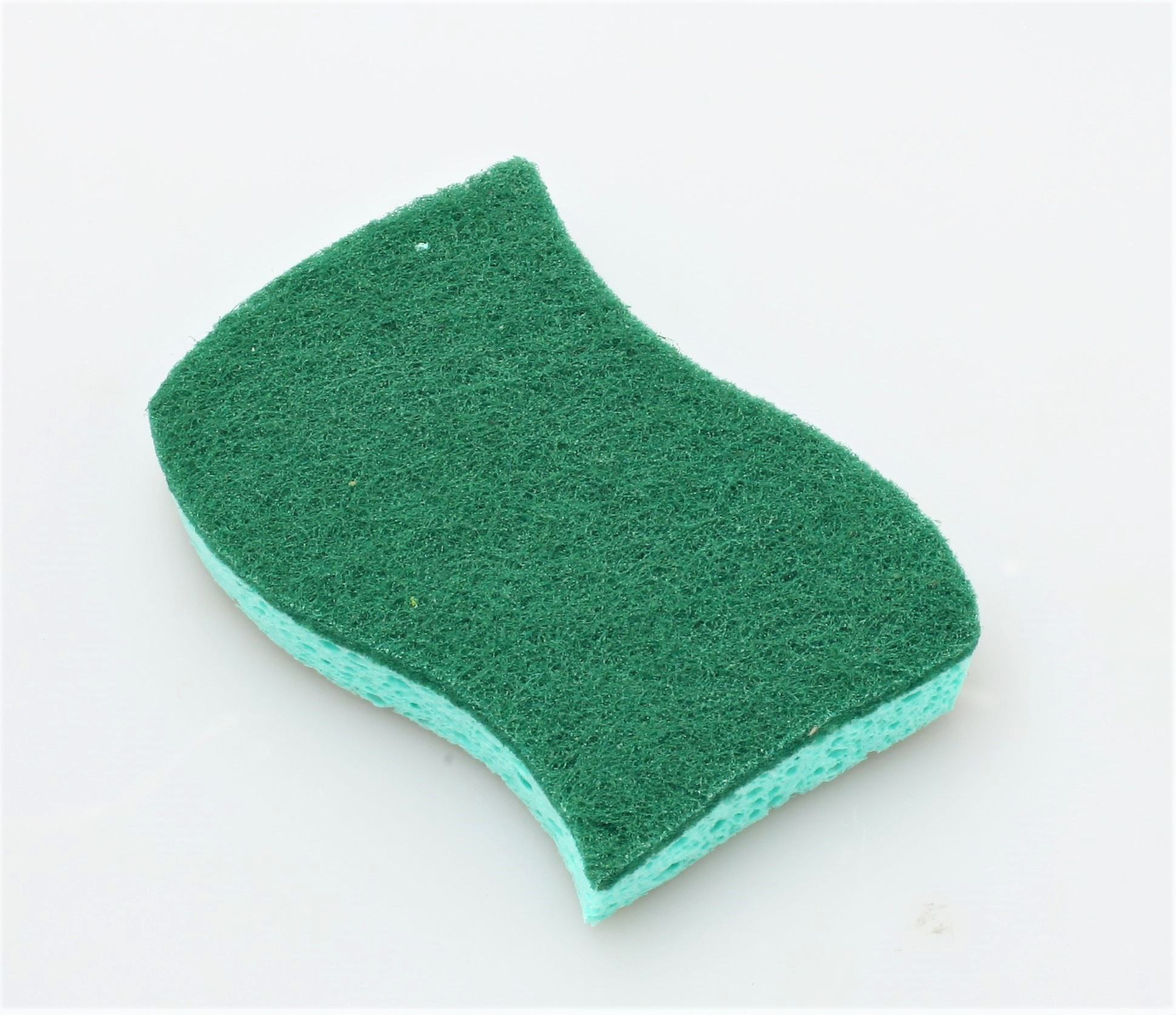 White Natural Pulp High Absorbent Eco-Friendly Cloth Nylon Wet Cellulose Sponge with Reasonable Price