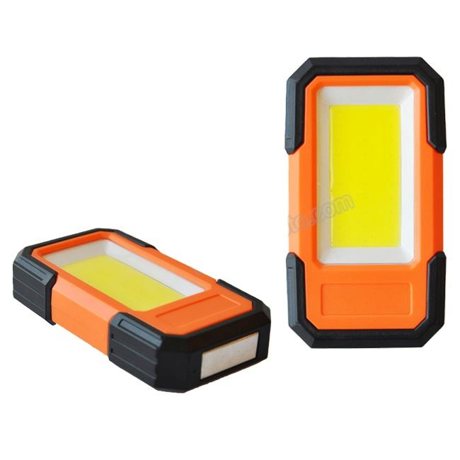 5w new multi-fuction portable wireless battery mini COB light LED work lamp with clip for free your hands