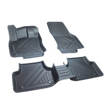 3D All-Weather Full Cover Non-slip Floor Liners Foot Mats Carpet for Volkswagen Lavida PLUS 2018-2019 (Left rudder)