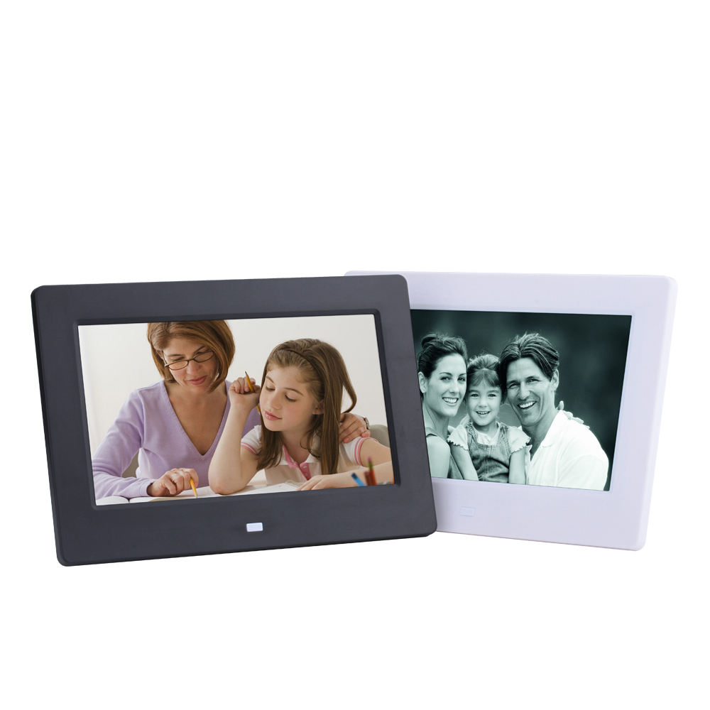 7 inch download free mp3 mp4 digital photo frame