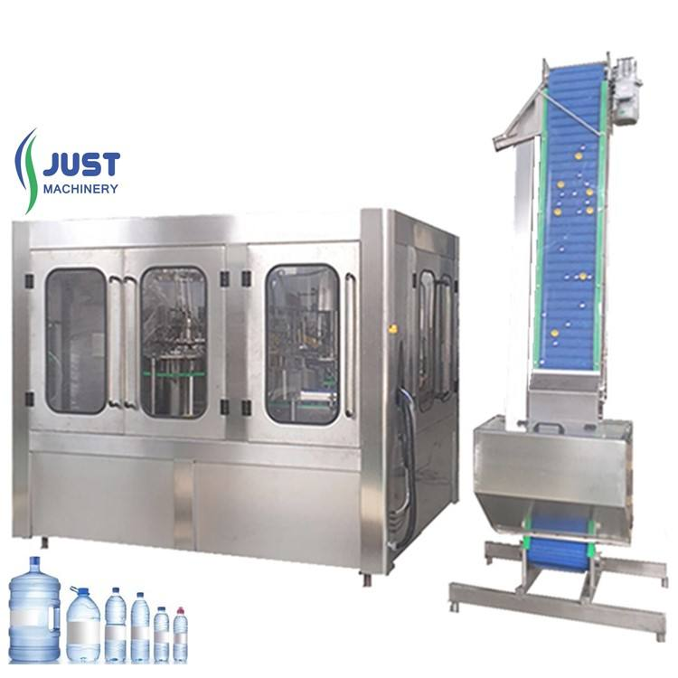 Automatic different bottle mould can customized bottling water machine