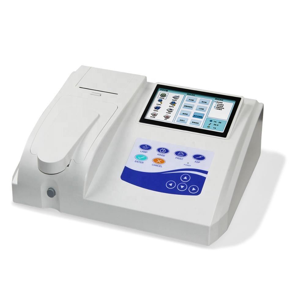 Manufacturer BC300 portable Semi Automatic Biochemistry Analyzer Blood Test Machine Auto Chemistry Analyzer