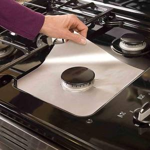 Stove Burner Covers Reusable Gas Range Protectors