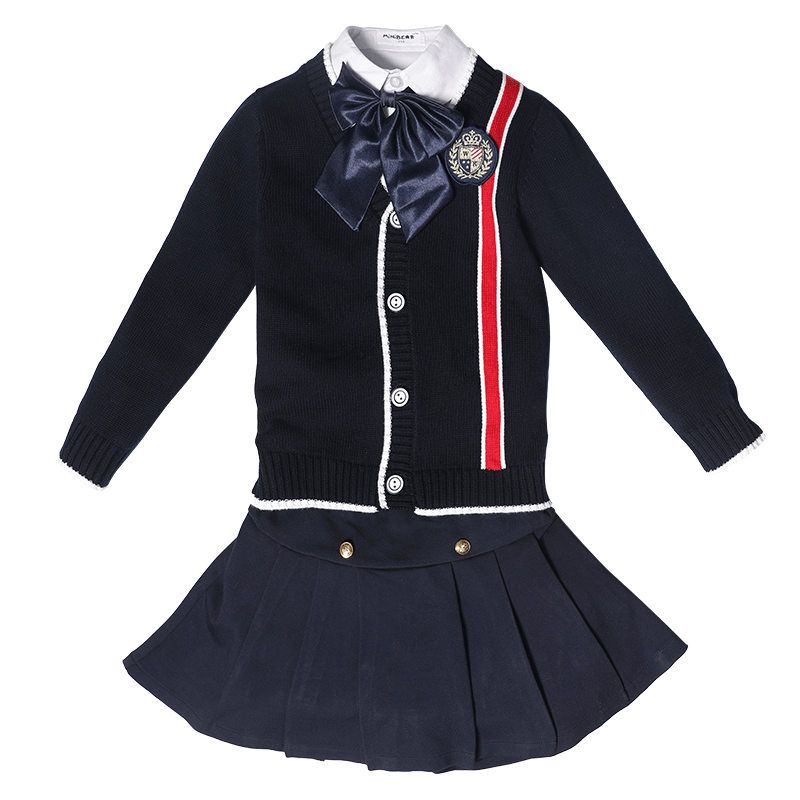 OEM ODM Factory Wholesale fashion primary school uniform sweater designs kids uniforms