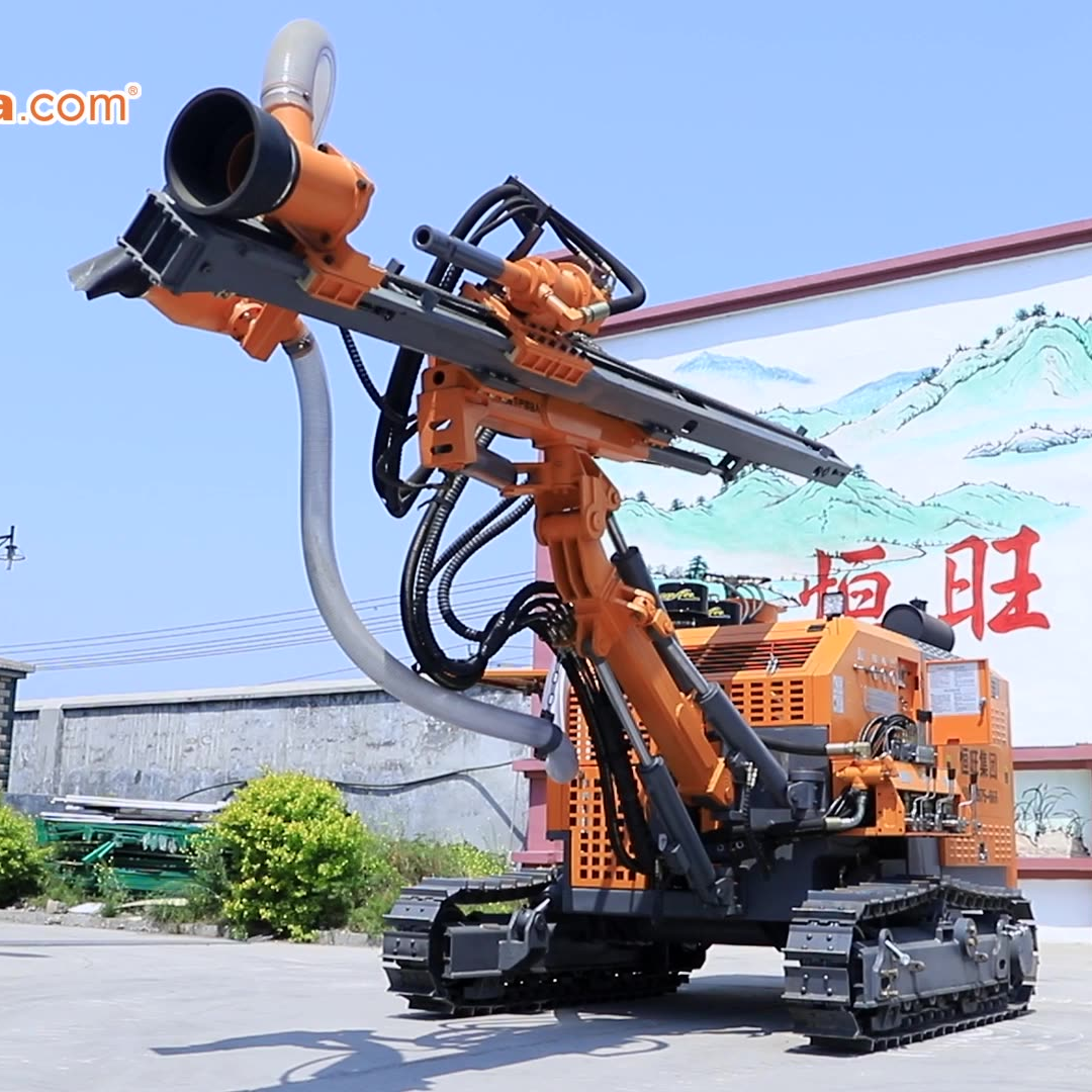 Small Pneumatic Blasting Hydraulic Mechanical Mini Portable Drilling Rig for Mining