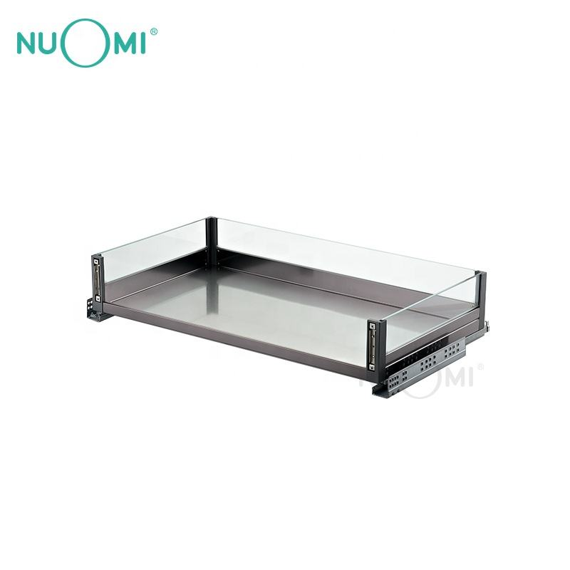 NUOMI Modern Kitchen Cabinet Three-side Pull-out Basket PURPLE CRYSTAL series