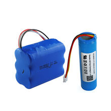 UL/CB/KC/UN38.3 certificated rechargeable 3.7v 18650 2600mah li-ion battery pack with 3 wire NTC and connector
