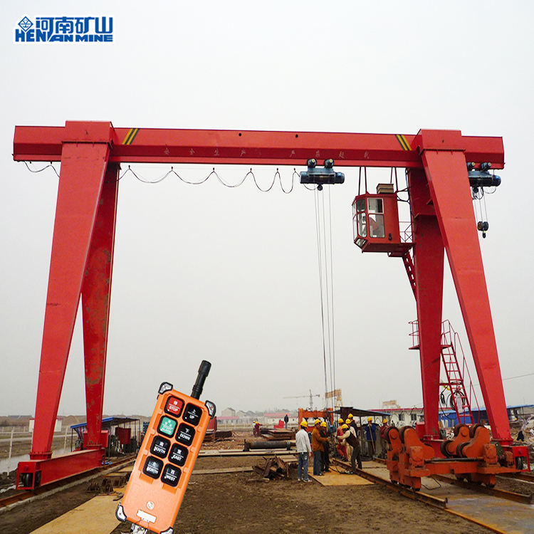 Outdoor 20Ton Model MH Single Girder Truss Door Crane Gantry Crane Price