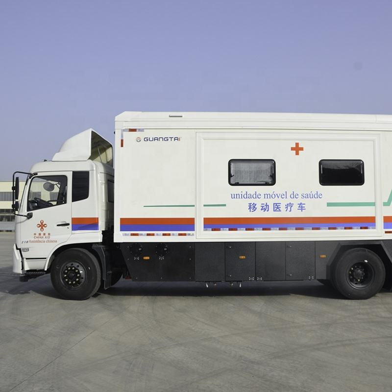 Reliable mobile clinic mobile hospital bus for general medical