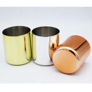 stainless steel candle jar, Copper Tin Wax Candle cup,copper mule mug wax copper candle jar
