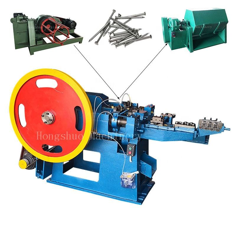Full Automatic Wire Steel Concrete Nail Making Machine Price/Making Metal Nails
