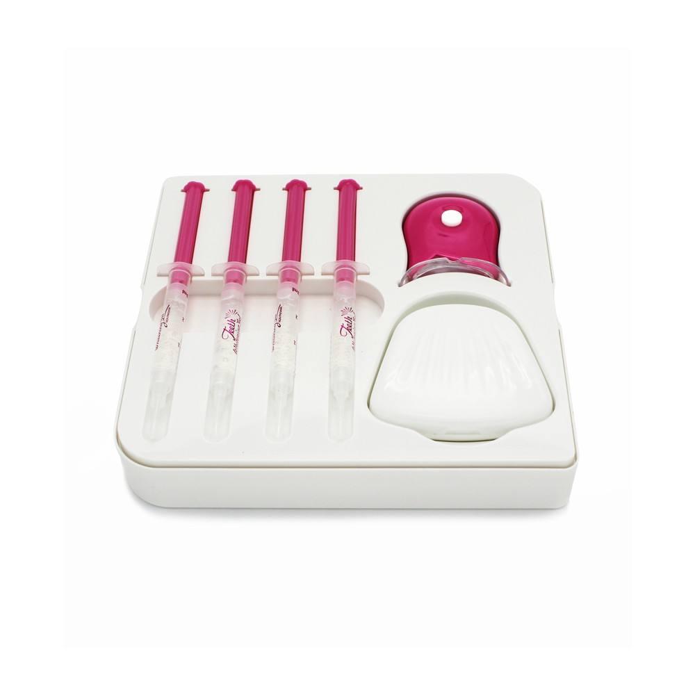 Paquete de actualización y fórmula para blanquear los dientes kits de blanqueamiento de carbón para el hogar por Luxsmile