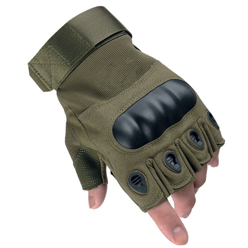 Half finger Tactical Gloves. Motorcycle Gloves, bike Cycling, Military, Riding, Police, Outdoors, Shooting Gear Gloves