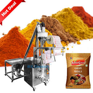 Full Automatic Low Cost 50g 100g 500g Vertical Chilli Powder Spice Powder Sachet Packing Machine Price