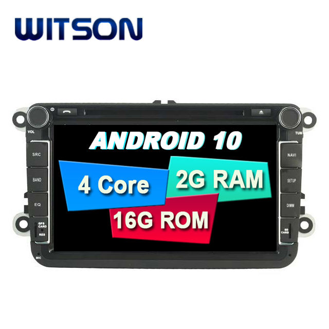 WITSON 8'' Android 10.0 Car DVD GPS Navigation For VW Universal Car DVD Player