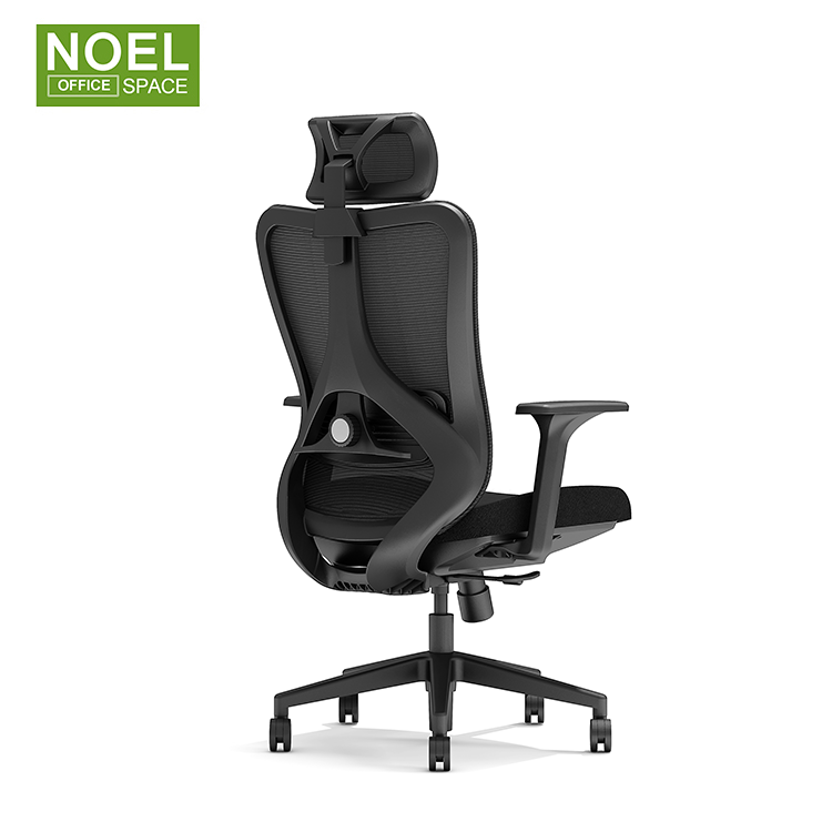 Good Quality Office Chair Swivel Models Black Swivel Rocking Staff Computer Mesh Fabric Office Chair For 150kgs People Use