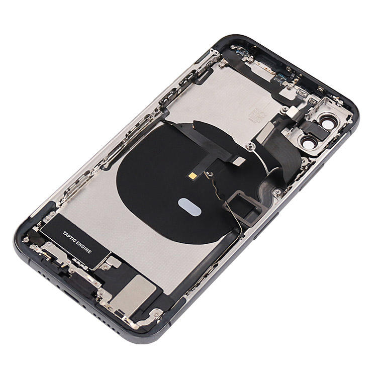 Grandever 5.8 inch black back cover housing back cover door for iphone XS