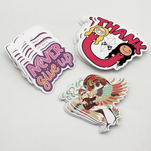 Custom Adhesive Private Stickers, Waterproof Die Cut Stickers Print, Customized Removable Adhesive PVC Vinyl Logo Sticker