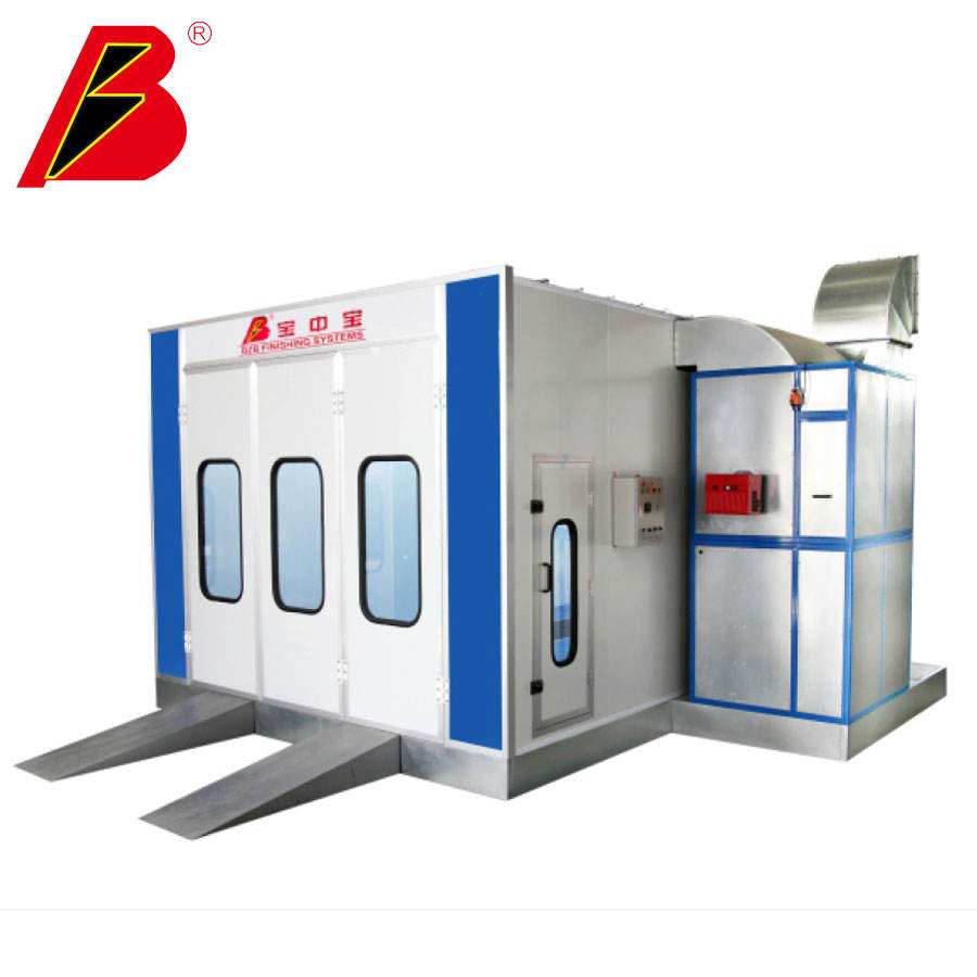 Auto Spray Booth Standard Car Paint Booth Automotive Downdraft Paint Booth