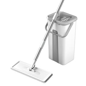 new microfiber wet and dry 360 wash flat mop bucket for floor cleaning magic mop
