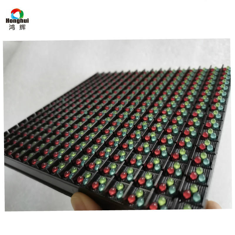 Alto brilho RGB DIP p10 módulo de led para display led