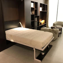 Hot selling modern factory wholesale electric bed murphy bed with sofa folding hidden wall bed