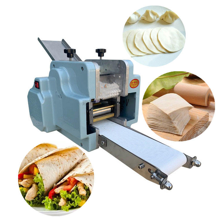 Electric small Dumpling Skin Roti Maker/Wonton Sheet Making Machine dumpling_wrapper_machine chinese dumpling skin maker