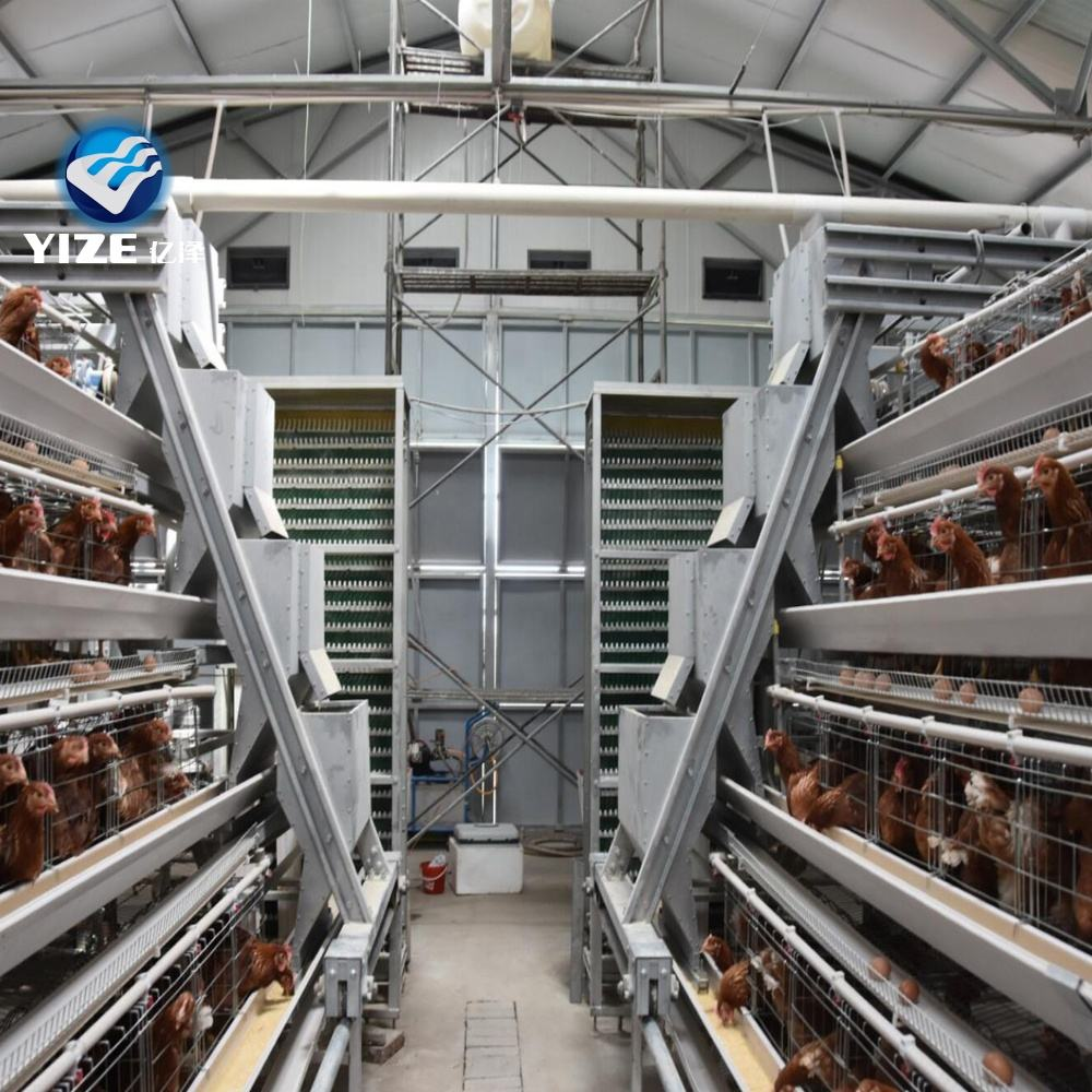 automatic chicken cage battery cages laying hens/galvanized wire meshgalvanized wire Material and Chicken Use layer cages