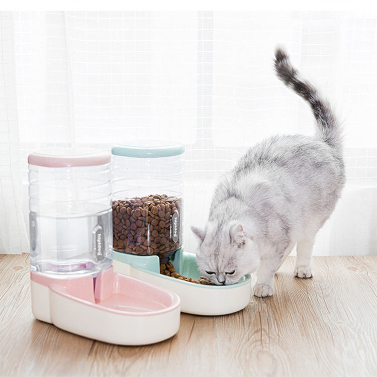 Wholesale Custom New Design Dog Cat Automatic Food Feeder and Watering